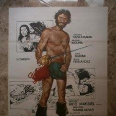 Cine: VIVA DON JUAN TENORIO. LORENZO SANTAMARIA, ANGELA MOLINA. AÑO 1977.. Lote 32600575