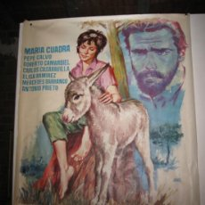 Cine: CARTEL ORIGINAL DE LA PELICULA - PLATERO Y YO - AÑO 1.965 - 70 X 100 CMS.. Lote 32712527