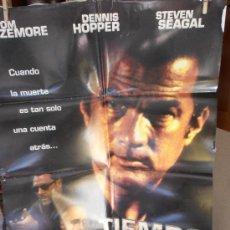 Cine: TIEMPO LIMITE, CARTEL DE CINE ORIGINAL 70X100CM CON ALGUN DEFECTO () A 1€ (99). Lote 32620972