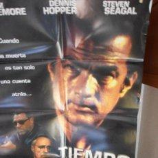 Cine: TIEMPO LIMITE, CARTEL DE CINE ORIGINAL 70X100CM CON ALGUN DEFECTO () A 1€ (99). Lote 32623338
