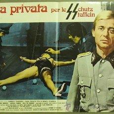 Cine: FW14 CASA PRIVADA PARA LAS SS BRUNO MATTEI SEXPLOITATION BILLAR POSTER ORIGINAL ITALIANO 47X68. Lote 32625465