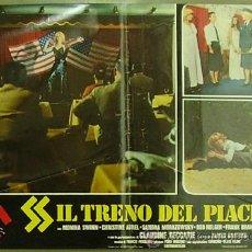 Cine: XG94D TREN ESPECIAL PARA HITLER SS SEXPLOITATION POSTER ORIGINAL ITALIANO 47X68. Lote 32625613