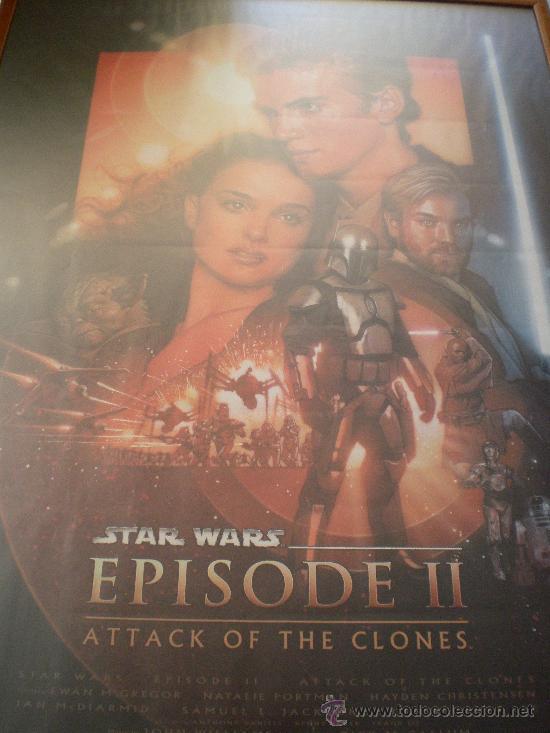 Cine: Poster Star Wars enmarcado profesional - Foto 2 - 32627663