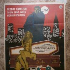 Cine: AMOR AL PRIMER MORDISCO. GEORGE HAMILTON, SUSAN SAINT JAMES. AÑO 1979.. Lote 32632166