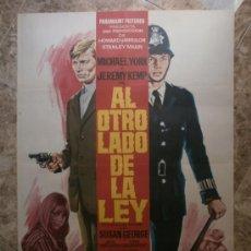 Cine: AL OTRO LADO DE LA LEY. MICHAEL YORK, JEREMY KEMP. AÑO 1969.. Lote 32648130