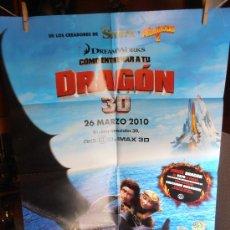 Cine: DRAGON, CARTEL DE CINE ORIGINAL 70X100 APROX (97). Lote 32659307