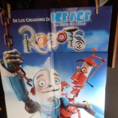 Cine: ROBOTS, CARTEL DE CINE ORIGINAL 70X100 APROX (97). Lote 32682952