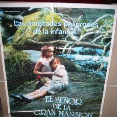 Cine: EL SEÑOR DE LA GRAN MANSION REGIS WAGNIER POSTER ORIGINAL 70X100 Q. Lote 32665204