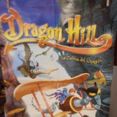 Cine: DRAGON HILL, CARTEL DE CINE ORIGINAL 70X100 APROX (97). Lote 32694326