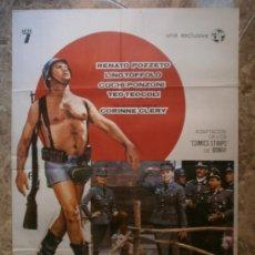 Cine: STURMTRUPPEN JO...¡ QUE GUERRA ! RENATO POZZETO, LINO TOFFOLO, COCHI PONZONI. AÑO 1977.. Lote 32674347