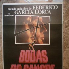 Cine: BODAS DE SANGRE - IRENE PAPAS, LAURENCE THERZIEF - AÑO 1979. Lote 94800856