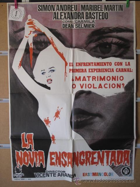 LA NOVIA ENSANGRENTADA (Cine - Posters y Carteles - Terror)