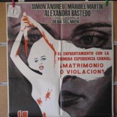 Cine: LA NOVIA ENSANGRENTADA. Lote 221823620
