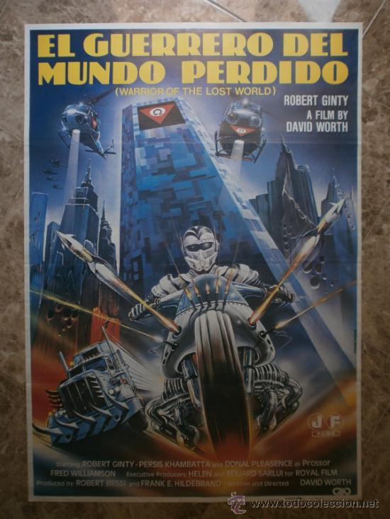 EL GUERRERO DEL MUNDO PERDIDO - ROBERT GINTY - AÑO 1983 (Cine - Posters y Carteles - Ciencia Ficción)
