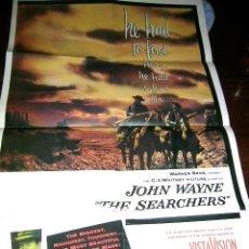 Cine: JOHN WAYNE.CARTEL PLEGABLE(FORMATO 8 FOLIOS) DE LA COLECCIÓN FASCICULOS..EDC.P.AGOSTINI.ENVIO PAGADO. Lote 32720066