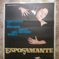 Cine: ESPOSAMANTE. MARCELLO MASTROIANNI, LAURA ANTONELLI. AÑO 1978.. Lote 32718837