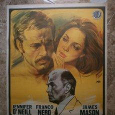 Cine: GENTE DE RESPETO. JENNIFER O'NEILL, FRANCO NERO, JAMES MASON. AÑO 1976.. Lote 81878408