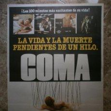 Cine: COMA. MICHAEL DOUGLAS, GENEVIEVE BUJOLD.. Lote 32720895
