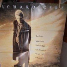 Cine: LAS DOS CARAS DE LA VERDAD,RICHARD GERE CARTEL DE CINE ORIGINAL 70X100 APROX (98). Lote 32803190