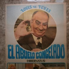 Cine: EL ABUELO CONGELADO. LOUIS DE FUNES. AÑO 1978.. Lote 32727396