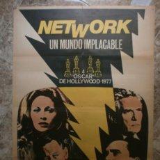 Cinema: NETWORK UN MUNDO IMPLACBLE.FAYE DUNAWAY, WILLIAM HOLDEN. AÑO 1976.. Lote 32727504