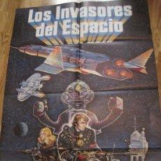 Cine: CARTEL DE CINE-LOS INVASORES DEL ESPACIO-KINJI KUKASU-1978-CIENCIA FICCION-96X67 CTMS-POSTER. Lote 32755737