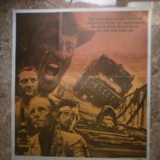 Cine: CARGA MALDITA - ROY SCHEIDER, BRUNO CREMER, FRANCISCO RABAL - ILUSTRADOR MAC. Lote 147299780