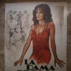 Cine: LA DAMA DE ROJO. PAMELA SUE MARTIN, ROBERT CONRAD. AÑO 1980.. Lote 32770605