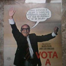 Cine: VOTA A GUNDISALVO. ANTONIO FERRANDIS, EMILIO GUTIERREZ CABA, SILVIA TORTOSA. AÑO 1977.. Lote 32771120