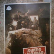 Cine: ¡ QUIERO LA VERDAD ! MICHAEL MORIARTY, YAPHET KOTTO, SUSAN BLAKELY. AÑO 1975.. Lote 32780036