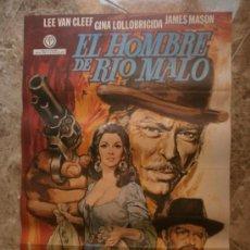 Cine: EL HOMBRE DE RIO MALO. LEE VAN CLEEF, GINA LOLLOBRIGIDA, JAMES MASON. AÑO 1972.. Lote 38935638