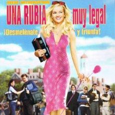 Cine: CARTEL PUBLICITARIO - UNA RUBIA MUY LEGAL. Lote 32800007