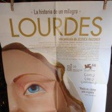 Cine: LOURDES, CARTEL DE CINE ORIGINAL 70X100 APROX (56). Lote 32816143
