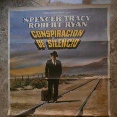 Cine: CONSPIRACION DE SILENCIO. SPENCER TRACY, ROBERT RYAN. AÑO 1972.. Lote 32818182
