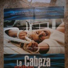 Cine: LA CABEZA SOBRE EL AGUA. LENE ELISE BERGUM, SVEIN ROGER KARLSEN. . Lote 32819004