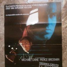 Cine: EL CUARTO PROTOCOLO. MICHAEL CAINE, PIERCE BROSNAN. AÑO 1987.. Lote 32822292