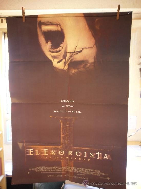 EL EXORCISTA (EL COMIENZO), CARTEL DE CINE ORIGINAL 70X100 APROX (90) (Cine - Posters y Carteles - Terror)