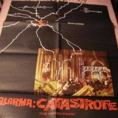 Cine: ANTIGUO CARTEL ORIGINAL DE PELICULA - ALARMA : CATASTROFE - THE MEDUSA TOUCH - JACK GOLD. Lote 32833982
