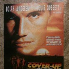 Cine: COVER - UP. RESCATE. DOLPH LUNDGREN, LOUIS GOSSETT. AÑO 1990.. Lote 103703196