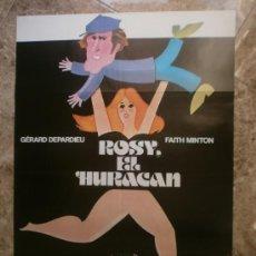 Cine: ROSY, EL HURACAN. GERARD DEPARDIEU, FAITH MINTON. AÑO 1980.. Lote 32846858