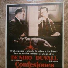 Cine: CONFESIONES VERDADERAS. ROBERT DE NIRO, ROBERT DUVALL. AÑO 1981.. Lote 32847226