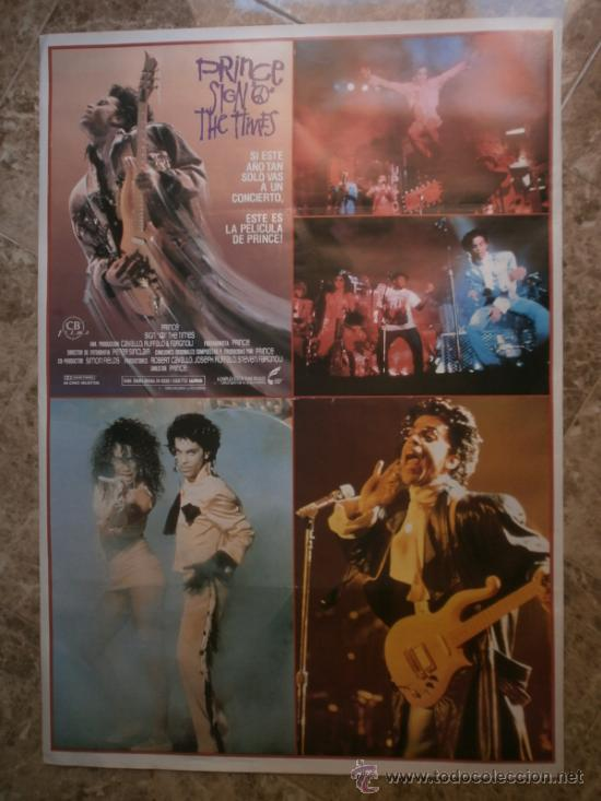 Cine: PRINCE SIGN O THE TIWES. PRINCE. AÑO 1989. - Foto 1 - 115654974