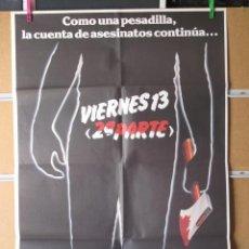 Cine: VIERNES 13 2ª PARTE. Lote 32851936