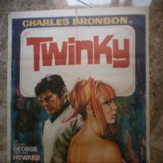 Cinema: TWINKY. CHARLES BRONSON. AÑO 1971.. Lote 32871741