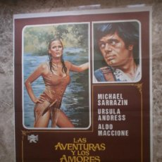 Cine: LAS AVENTURAS Y LOS AMORES DE SCARAMOUCHE. MICHAEL SARRAZIN, URSULA ANDRESS, ALDO MACCIONE. AÑO 1976. Lote 32881801