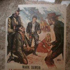 Cine: LA MUERTE NO CUENTA LOS DOLARES. MARK DAMON, STEPHEN FORSYTH. AÑO 1972.. Lote 32889935