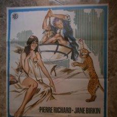 Cine: LA MOSTAZA SE ME SUBE A LA NARIZ. PIERRE RICHARD, JANE BIRKIN. AÑO 1975.. Lote 32898885