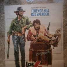 Cine: LOS 4 TRUHANES. TERENCE HILL, BUD SPENCER. AÑO 1978.. Lote 32910068