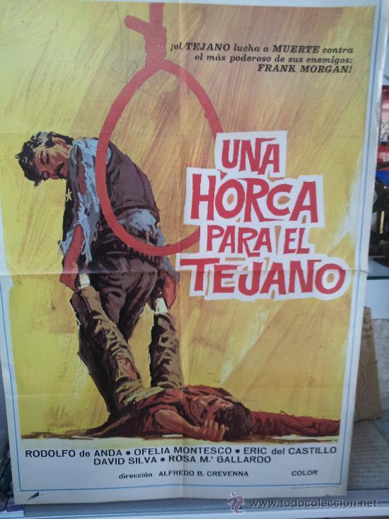 UNA HORCA PARA UN TEJANO (Cine- Posters y Carteles - Drama)