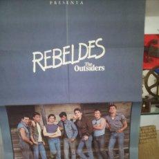 Cine: 4-POS--POSTER DE LA PELICULA--REBELDES. Lote 220655135